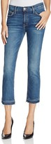 Current/Elliott The Cropped Straight Jeans in Vertigo