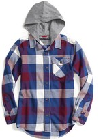 Tommy Hilfiger Runway Of Dreams Hooded Flannel Shirt