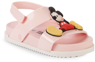 Mini Melissa Baby Girl's & Little Girl's Mickey & Minnie Mouse Sandals