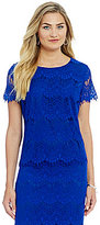Preston & York Theresa Lace Blouse