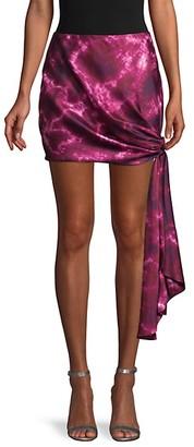 Cinq à Sept Tie-Dyed Mini Skirt