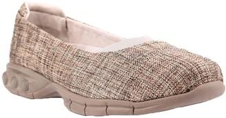 Chanel Therafit Fabric Ballet Flats