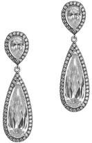 Kenneth Jay Lane Crystal Teardrop Earrings 1