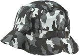 DALIX New Blank Hat Washed Camouflage Bucket Hat Extra Large Gray Camouflage