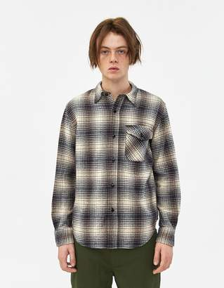 Beams Guide Shirt Flannel Check