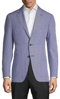 Canali Mini Check Sport Jacket