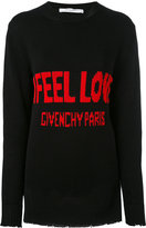 Givenchy Printed Cotton Sweater