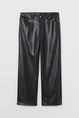 H&M H&M+ Faux Leather Pants
