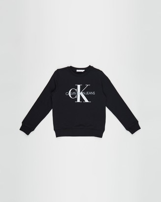 Calvin Klein Jeans Monogram Logo Sweatshirt - Teens