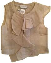 Sportmax Grey Cotton Jacket for Women