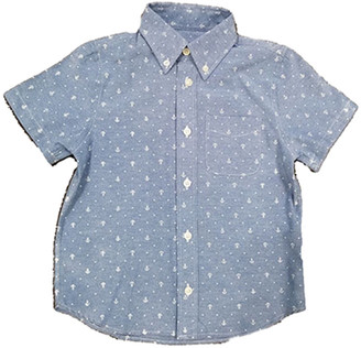 E-Land Kids E Land Anchor Print Woven Shirt