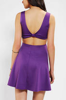 Urban Outfitters Pins And Needles Knit Bow-Back Skater Dress