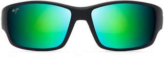 Maui Jim Men's Local Kine Polarized Nylon Wrap Sunglasses