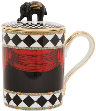 Richard Ginori 1735 - Totem Elephant Mug with Lid