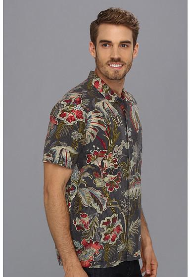 Tommy Bahama Island Modern Fit Laurel Floral Camp Shirt