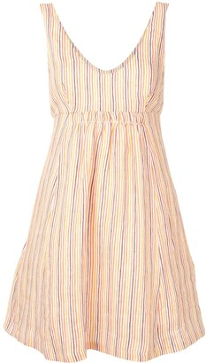 Three Graces Emilia striped dress