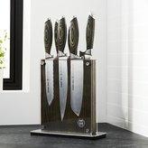 Crate & Barrel Schmidt Brothers ® Bonded Ash 7-Piece Knife Set