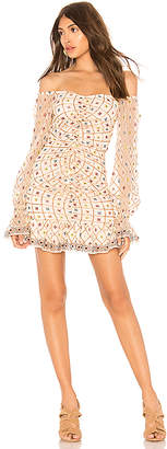 Tularosa Kassandra Embroidered Dress