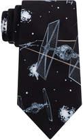 Star Wars Men's X-Wing & TIE Fighter Conversational Tie
