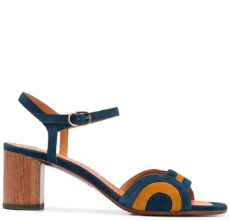 Chie Mihara 65mm Panelled Sandals