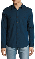 Faherty Seasons Solid Sportshirt