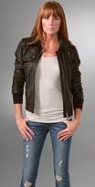 S.w.o.r.d Barletta Leather Jacket