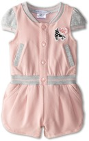 Little Marc Jacobs Roller Fleece Romper (Infant)