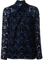 ALICE by Temperley 'Esme' semi-sheer blouse