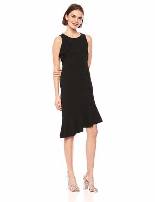 Kensie Dress Women's Black Scuba Dress 8