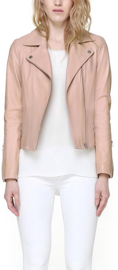 Soia & Kyo Megane Leather Jacket