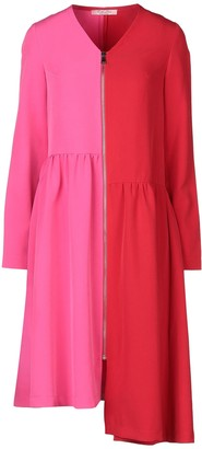 Rose' A Pois Knee-length dresses