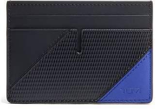Tumi blue pieced wallet