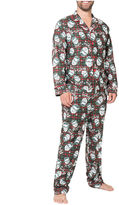 Asstd National Brand A Christmas Story Ralphie Coat Front Family Pajama Set- Men's