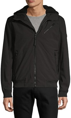 Michael Kors Faux Fur-Lined Zip-Up Jacket