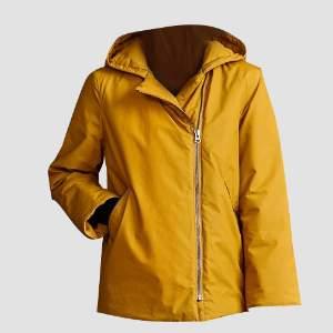 Langerchen - Millis Madras Winter Hooded Jacket - L - Gold