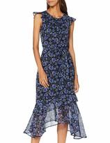 Dorothy Perkins Women's Short Sleeve Ruffle Asymmetric Dress