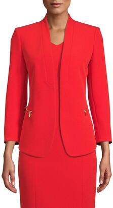 Anne Klein Zip Pocket Jacket