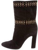 Tamara Mellon Embellished Mid-Calf Boots