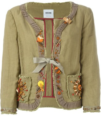 Moschino Pre-Owned Embellished Jacket