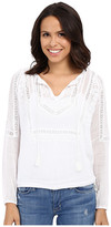 Lucky Brand Lace Insert Top