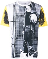 J.W.Anderson Gilbert & George dog boy allover print t-shirt