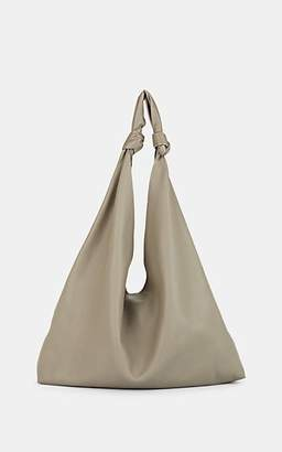 The Row Women's Bindle Two Double-Knot Leather Shoulder Bag - Lt. Green