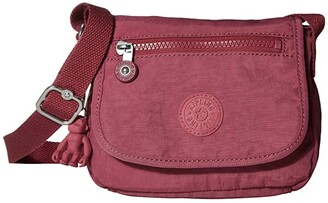 Kipling Sabian Crossbody Mini Bag (Fig Purple) Handbags