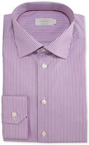 Eton Contemporary-Fit Bengal-Stripe Dress Shirt, Purple