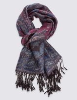 Marks and Spencer Remaster Jacquard Scarf