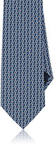 Salvatore Ferragamo Men's Chain-Print Silk Necktie