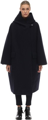 Moncler Genius Exclusive Wool & Cashmere Coat W/ Lining