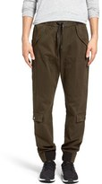 Hudson Men's Holden Skinny Fit Twill Jogger Pants