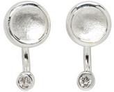 Pamela Love Silver Gravitation Earrings