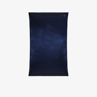 Slip Blue Queen Silk Pillowcase
